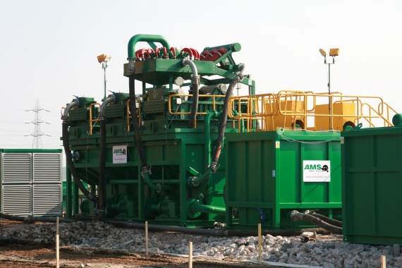 AMS No-Dig Mud Recycling Equipment