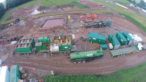 Drill site overview